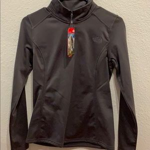 North Face half zip fleece